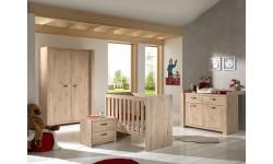 chambre complète AMALIA ARTISANAL avec armoire 2 portes